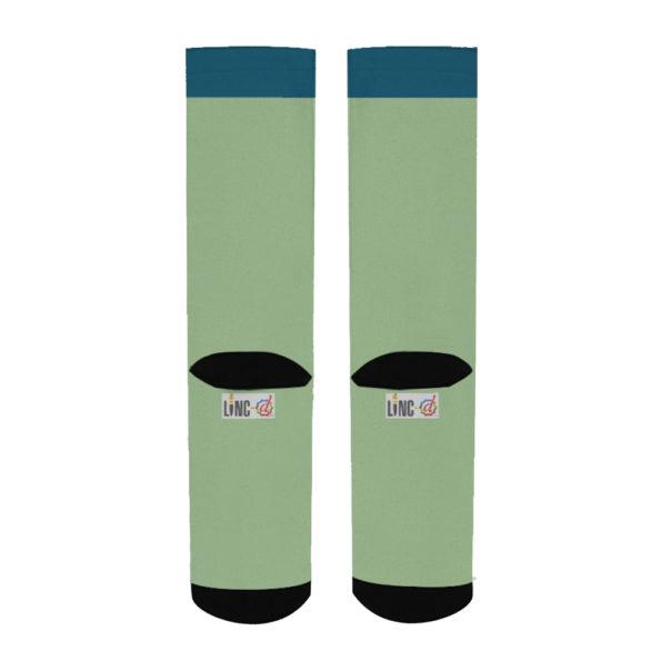 Moon Snake Men's Socks back