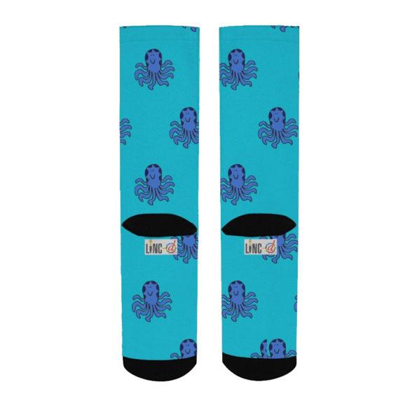 happy octopus women's socks back