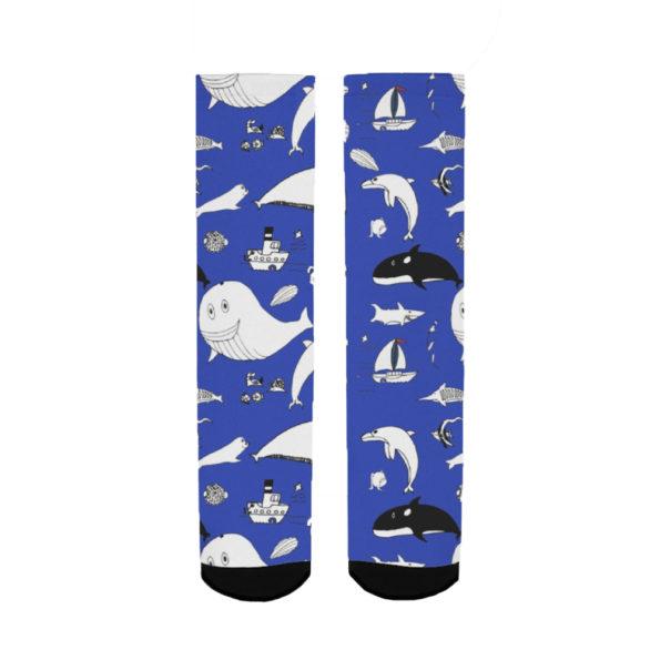 sea creatures women's socks