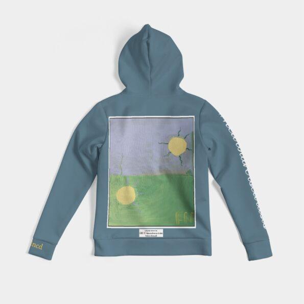 women's art hoodie