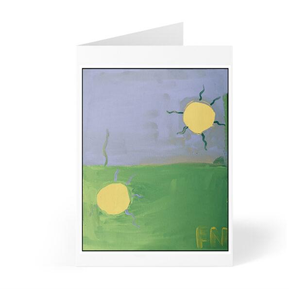 sun card front photo